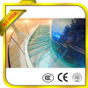 Crystal clair Laminated Tempered Glass Stair Railing avec Certificate
