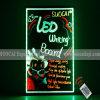 널 (VD750-K)를 광고하는 LED 필적