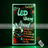 LED-Handschrift, die Vorstand (VD750-K, bekanntmacht)