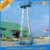 4-12m vertikaler elektrischer hydraulischer Aufzug-beweglicher von der Luftaufzug für Verkauf