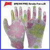 PU покрыл трудные защитные перчатки работы Guantes (PU 1005)
