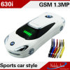 Color Mini Car Shape Style Dual SIM Card Dual Band 630I Cell Phone