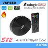 V-Speed Quad Core Amlogic S82 Xbmc 13.0 Version Android TV Box Amlogic S82 S802 Smart TV Box