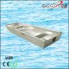 Nave di soccorso di alluminio di stabilità della parte inferiore piana per pesca