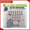 테이블 다리를 위한 자동 접착 EVA 가구 프로텍터 발 패드
