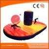 Juego inflable T7-202 del deporte del baloncesto de la corrida del amortiguador auxiliar de la meta 2017