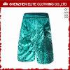 Shorts di calcio di verde di stampa sublimati ultimo modo (ELTSSI-14)