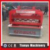 Feuille de panneau de paquet d'étage en acier faisant le roulement formant la machine