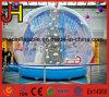 Esfera inflável da mostra do globo da neve do tamanho humano para a promoção