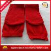 Chaussettes faites sur commande tricotées rouges de coton, chaussettes remplaçables de vol