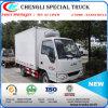 Mini 3tons Cuerpos 4X2 camioneta de carga Caja Congelador