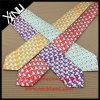 Relation étroite en soie fabriquée à la main estampée par soie de la mode élevée 100% pour les hommes