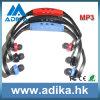 3色(ADK1301)の流行のスポーツのMP3プレーヤー