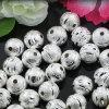 10mm bördelt bereifendes dekoratives der Ausschnitt-Silber Zusätze/Befestigungen (02309)