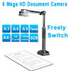 Documento Camera 5MP, USB Visual Presenter, USB Document Camera, Manufacturer di Portbale