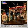 Luz derecha de la decoración de la Navidad de la arcada del adorno al aire libre de 2017 días de fiesta