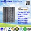 Chinesischer Bt669 11r22.5 Radial-LKW-Reifen mit ECE