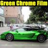 Пленка винила изменения цвета автомобиля хрома зеленого
