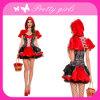 Костюм красной горничной платья Cosplay симпатичный