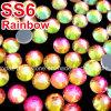 Hierro de Ss6-Ss30 1440PCS DMC en los Rhinestones cristalinos de Hotfix (arco iris HF-ss6-ss30)