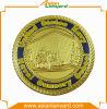Золотая монетка сувенира металла Deisgn