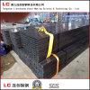 Tubo d'acciaio rettangolare nero lubrificato con tessuto impermeabile