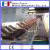 DIN-Norm Edelstahl Gravity Roller für Schüttgut Handing