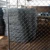 Cerca galvanizada elétrica revestida da ligação do PVC Cahin