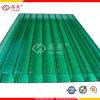Горячий лист поликарбоната полости зеленого цвета сбывания 2015