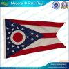 Bandierine della condizione dell'Ohio del poliestere (B-NF05F03100)