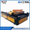 Laser di CNC del CO2 che taglia la macchina della base piana per i materiali di Nometal