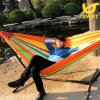 다색 Indoor 및 Outdoor Canvas Hammock Thickening Widening