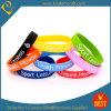 Wristbands personali del silicone di disegno per i regali promozionali in alta qualità