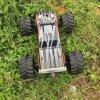Châssis en métal sans balais à 4 roues motrices RC Modèle de voiture RC 3670-2500kv