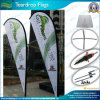 Durable padrão Outdoor Teardrop Flags e Beach Feather Flags (J-NF04F06055)