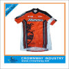 Dry feito sob encomenda Fit Cycling Wear, Mens Cycling Jersey com Custom Digital Print