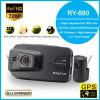 Weitwinkelobjektiv-Kamera-Nachtsicht Ry880 Minides auto-DVR GPS Wahl-Doppeldes objektiv-720p