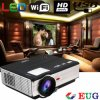Eug Branded LED Projector 3000 Lumens LED Support AndroidおよびWiFi Direct