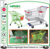 Asian Style Large Volume Supermarket Shopping Cart Trolley
