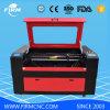 Máquina do laser do CO2 para a borracha da estaca da gravura, madeira, FM1290 acrílico