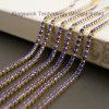 لباس زخرفة [رهينستون] زجاجيّة بلّوريّة فنجان سلسلة