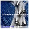 Tuyau de bonne qualité de silicium de catégorie médicale avec les garnitures sanitaires