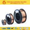 fil Sg2 de soudure de fil de cuivre de fil de soudure de MIG du boisseau 15kg/Plastic de 1.6mm au produit de soudure