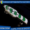 安全ピンのカスタムきれいなロゴのバッジPin