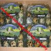 3X4 12units cancelam caixas plásticas do ovo de codorniz do PVC com etiquetas