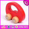 2015 Pull Back Mini Wooden Toy Wholesale Toy, Wooden Pull and Push Toy for Kids, Promotional Cheap String Wooden Drag Toys W05b080
