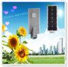 Luz de rua solar Integrated de venda quente do diodo emissor de luz do brilho elevado do lúmen 2017 18W