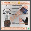 Dynamo opérante à la manivelle campante rechargeable de lampe du Portable 36 DEL