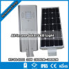 One Integrated Solar LED Street Light Luminaria Solar Todo En UnoのHitechled 25W All