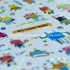 Epoxy Resin Label Nuevo Estilo Mejor Material Mejor Calidad Direct Precio de Fábrica Nuevo Diseño Autoadhesivo Cristal Epoxy Etiqueta
